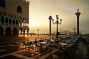 Piazetta di San Marco illuminato dal cielo