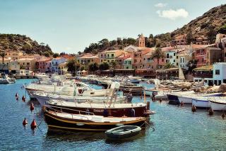 Porto di colori - Hafen der Farben - bs3839 (Giglio)