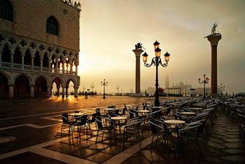 Brigitte Schindler Fine Art Fotografie Venedig Venice Venezia Venise Piazetta di San Marco Markusplatz